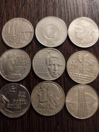 Stare monety PRL,zestaw 5