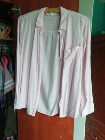 Koszula sinsay S jasny roz