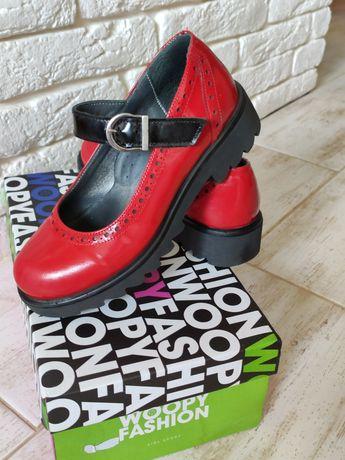 Ортопедические туфли для девочки Woopy orthopaedic 32р.
