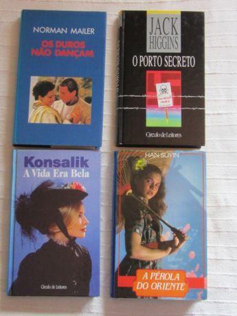 3 livros do Círculo de leitores, em muito bom estado