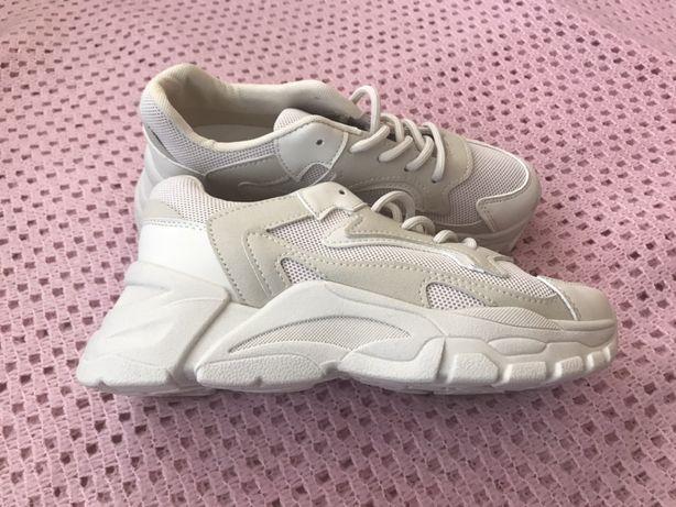 Кросівки нові білі / кроссовки новые белые 22,5см 36р.