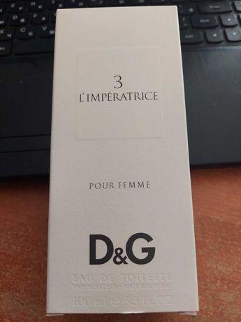Оригінальні парфуми DOLCE&GABBANA 3 L'Imperatrice
