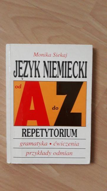 Język niemiecki od A do Z. Repetytorium - M. Siekaj