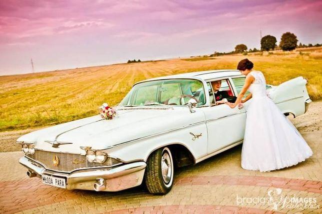 Samochód auto do ślubu zabytkowy amerykański Chrysler Imperial