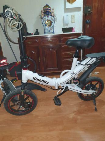 Bicicleta elétrica Niubility B14 100km