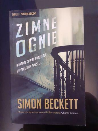 """""""Zimne ognie""""  Simon Beckett"""