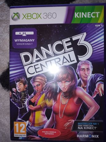 Dance central 3 Kinect X-box 360