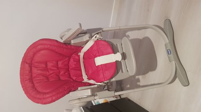 Cadeira Papa Chicco Polly Magic 2 em 1 bordeaux
