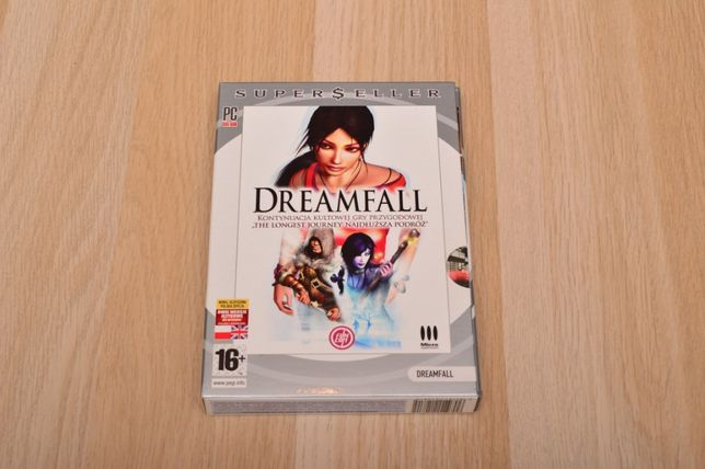 Dreamfall gra na PC DVD