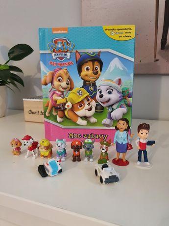 Psi patrol Moc zabawy figurki książka Paw Patrol