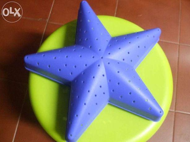 aplique parede Estrela Azul quarto criança
