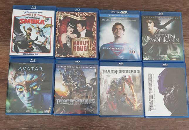 Filmy Blu-ray (można kupić oddzielnie każdy)