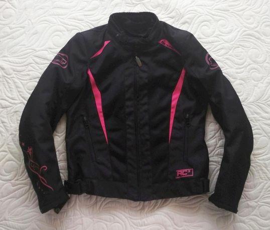 Nowa kurtka damska Lady Bering Keers r. S T1 czarno-różowa