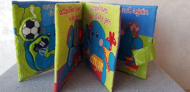 Розвиваюча книжечка. Игрушки для развития ребёнка