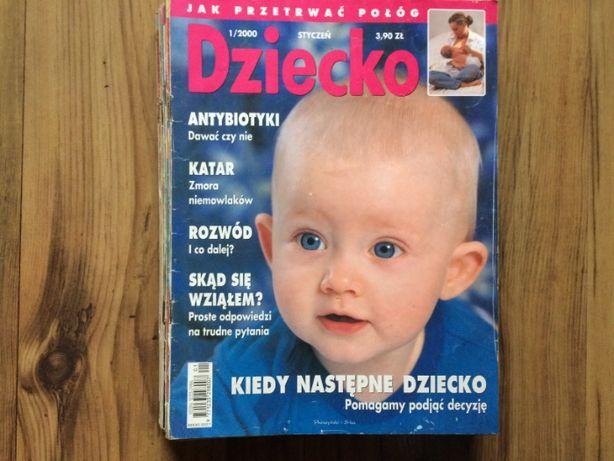 Magazyn Dziecko rok 2000 - komplet