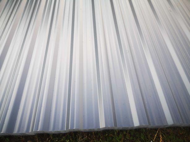 blacha trapez T14mm, RAL 9007, ciemny srebrny, grubość 0,8mm