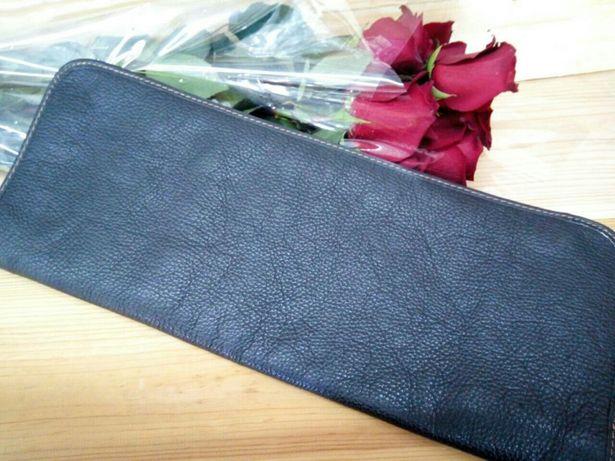 Продам шкіряний чохол на галстук