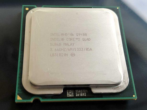 CPU Socket 775 | Intel® Core™2 Quad Processor Q9400, 2.66GHz