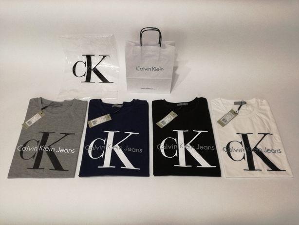 CALVIN KLEIN męska koszulka t-shirt ! TYLKO 50 zł ! S M L XL XXL
