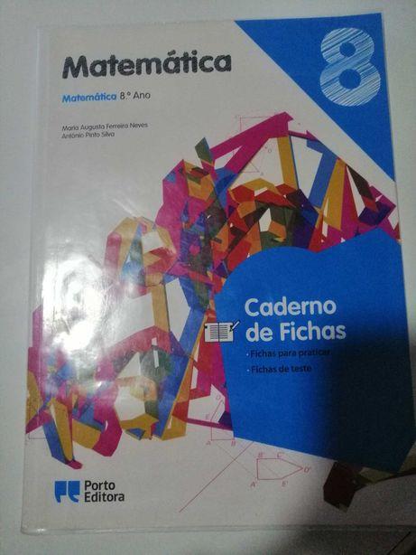 Caderno de Fichas - Matemática - 8.º Ano