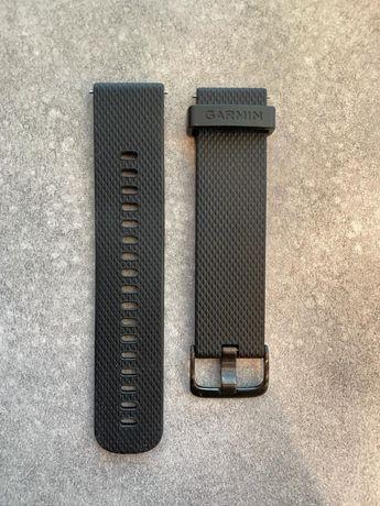 Pasek do zegarka Czarny Black GARMIN Vivoactive Vivomove 3 Forerunner