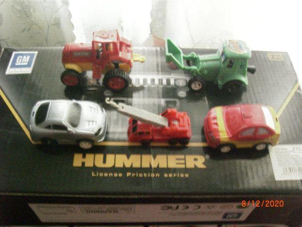 модели машинок и тракторов