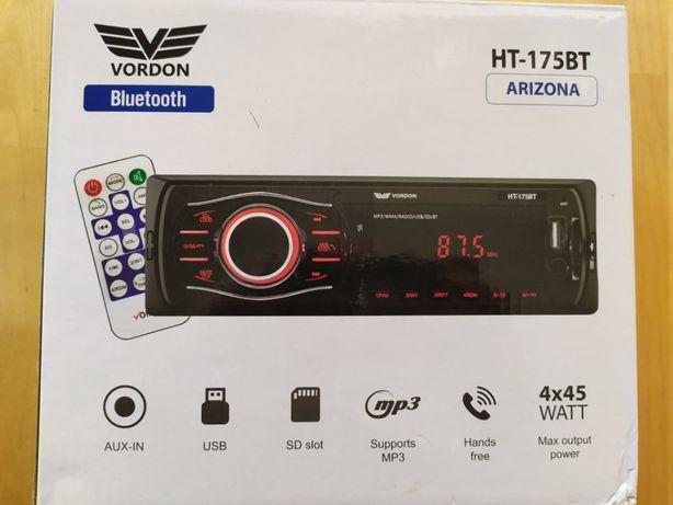 radio samochodowe VORDON HT-175BT arizona - NOWE