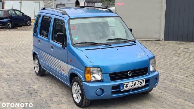 Suzuki Wagon R+ SPORT 1.0i Benzynka MANUAL Wspomaganie Alu ŁADNY z Niemiec PO OPŁATACH