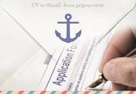 Рассылка CV, Помощь морякам, Составление Application form,Cover letter