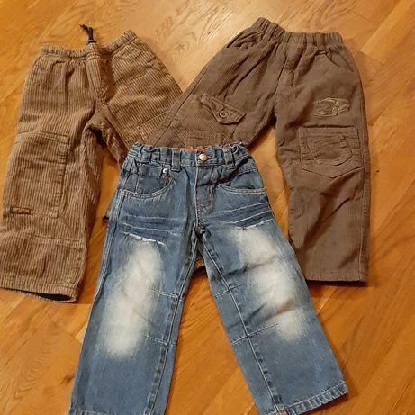Spodnie dla chłopca r.98