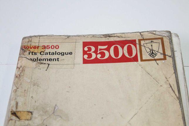 Manual Peças Rover 3500