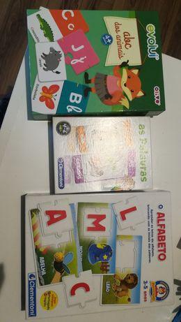 Puzzles iniciação à leitura