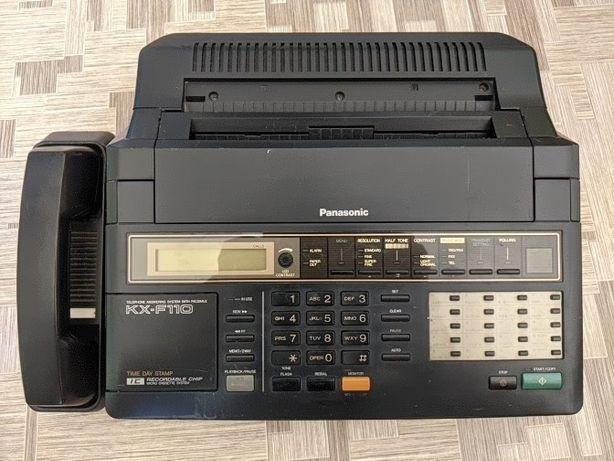 Телефон Факс модем Panasonic KX-F110