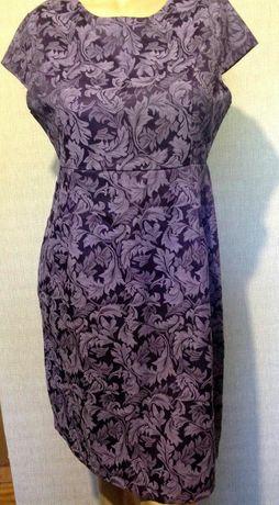 Стильное платье миди Real Form 52 размер