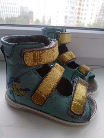 Продам ортопедическая обувь , босоножки 14 размера