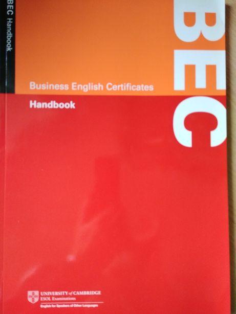 Business English Certificate handbook Cambridge