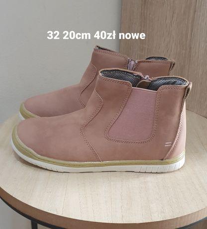 Nowe buciki jesień 32 20cm
