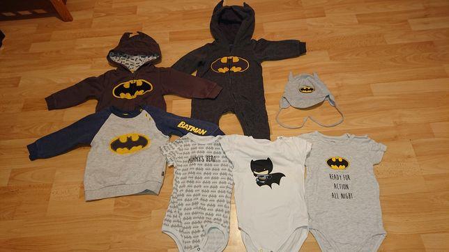 Zestaw ubrań Batman