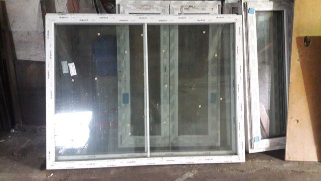 Okna nowe aluminiowe 103/148 ×3 178/136 ×2