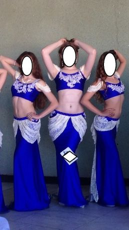 Костюм платье для восточных танцев