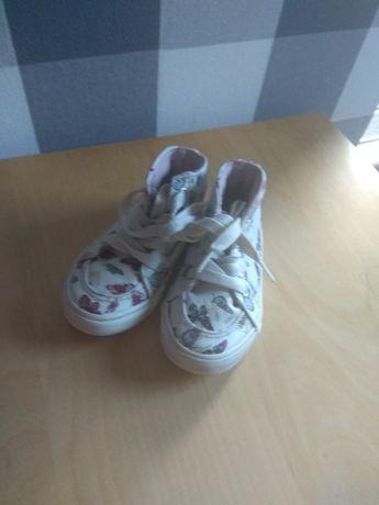 Buty jesienno-wiosenne dla dziewczynki, rozmiar 23