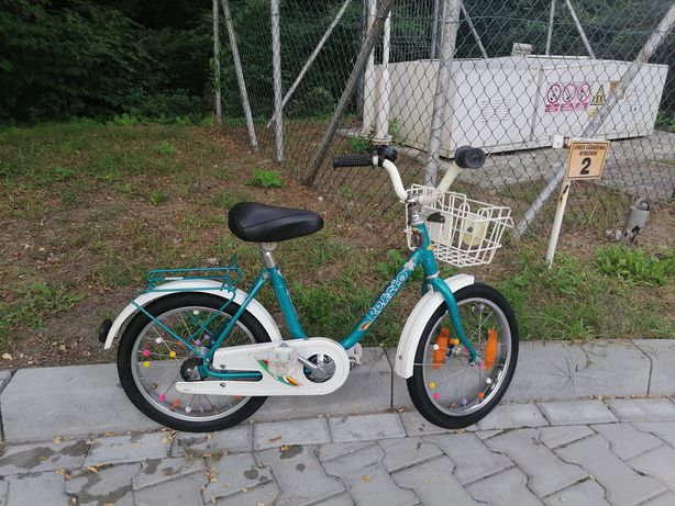 """Rowerek dziecięcy  rower 16"""" PRL"""