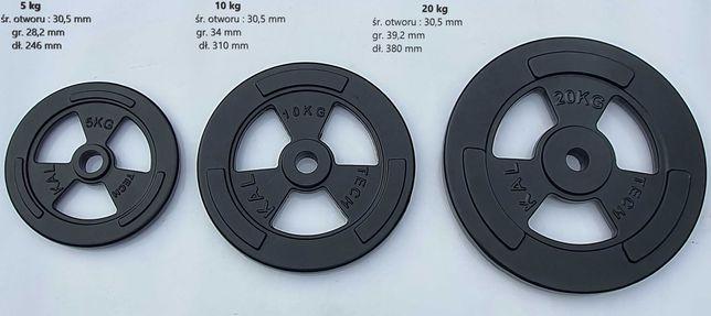 Super cena Nowe żeliwne obciążenia ,ciężary na siłownię  5,10,20kg