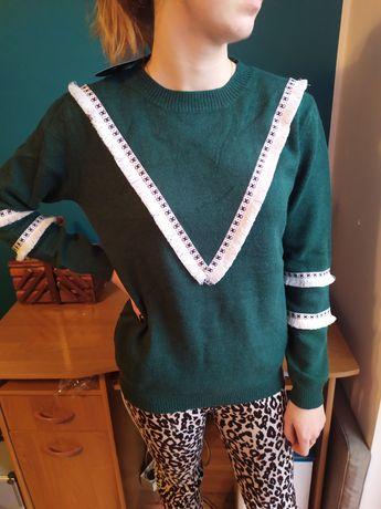Sweterek aztecki
