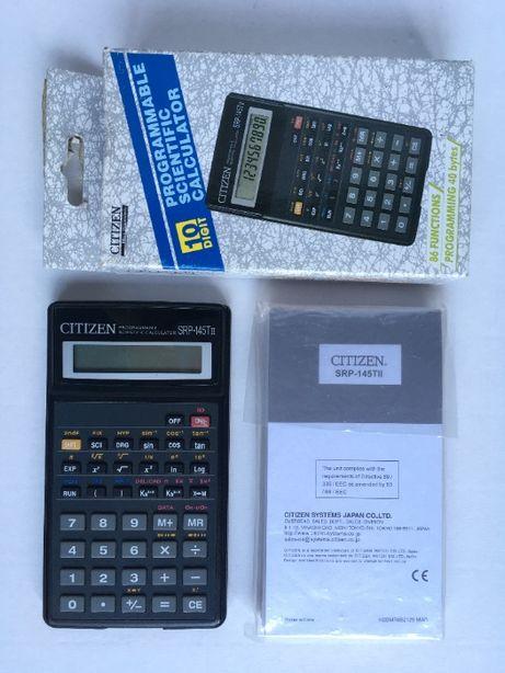 Инженерный научный калькулятор CITIZEN SRP-145TII программируемый