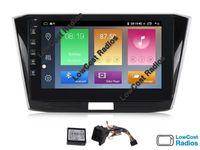 Auto Rádio GPS VW PASSAT B8 | 10' ANDROID • Multimédia BT USB WIFI