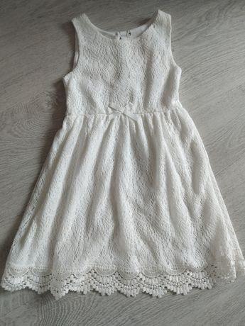 Sukienka na lato z koronki H&M