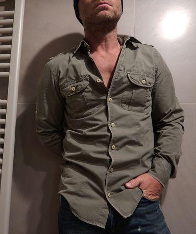 Мужская рубашка сафари Pull&Bear