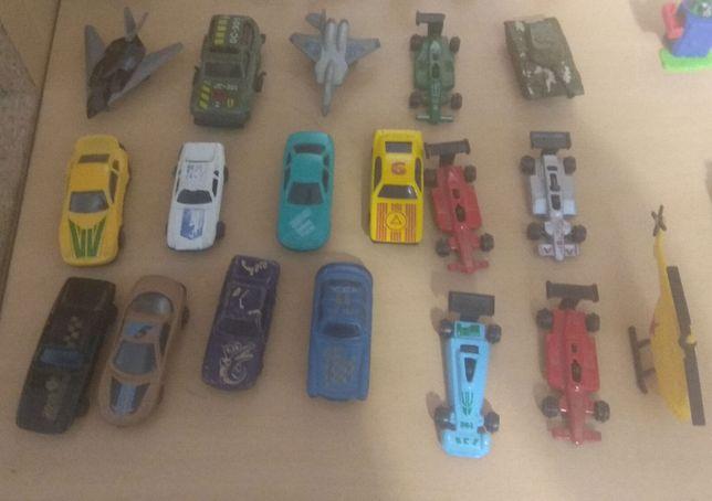 Машинки/самолёты игрушечные из 90-х + паровоз