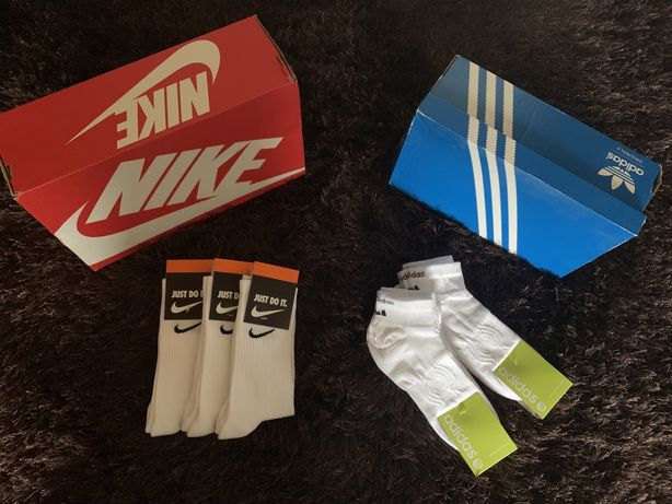 Meias Nike e Adidas originais